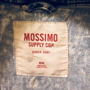 Mossimo Supply Co. Jackets & Coats - Mossimo Supply Co acid wash jean jacket